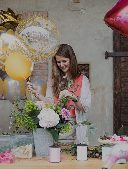 Vente en ligne de bouquets de ballons